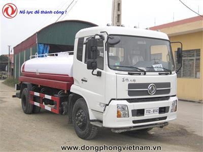 Xe phun nước rửa đường tưới cây Dongfeng - 9 khối (9m3) cabin mới