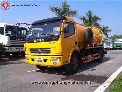 Xe hút chất thải Dongfeng - 6 khối (6m3)