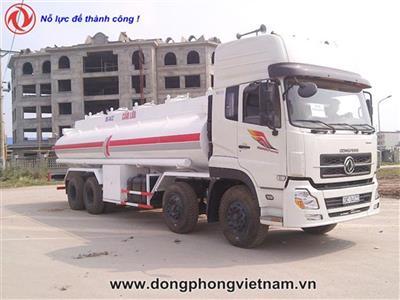 Xe xitec chở xăng dầu Dongfeng 4 chân 22 khối