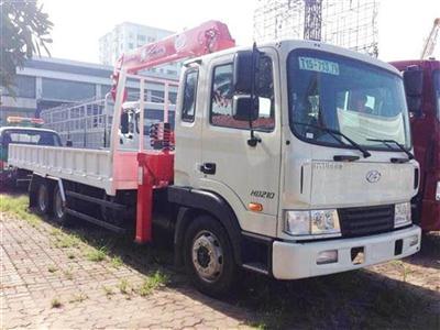 Xe tải Hyundai HD210 gắn cẩu Unic UR-V544